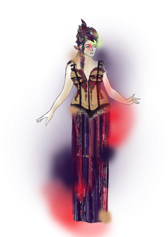 estilista para teatro, diseño de vestuario para teatro, diseño de moda, diseñadora vestuario, moda