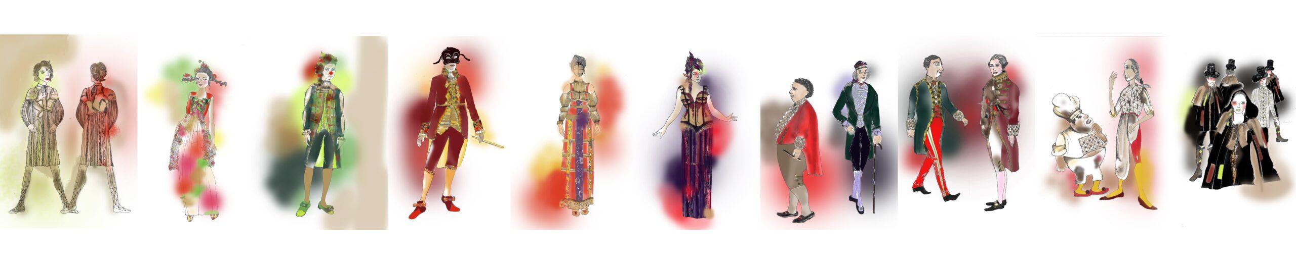 Diseñadora de moda y estilismo para Teatro: Natalia Esgueva